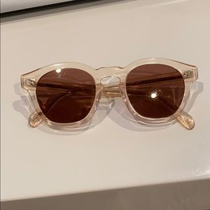 Oliver People's Boudreaux Pink Sunglasses
